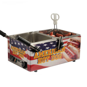 american hot dog macchina techfood