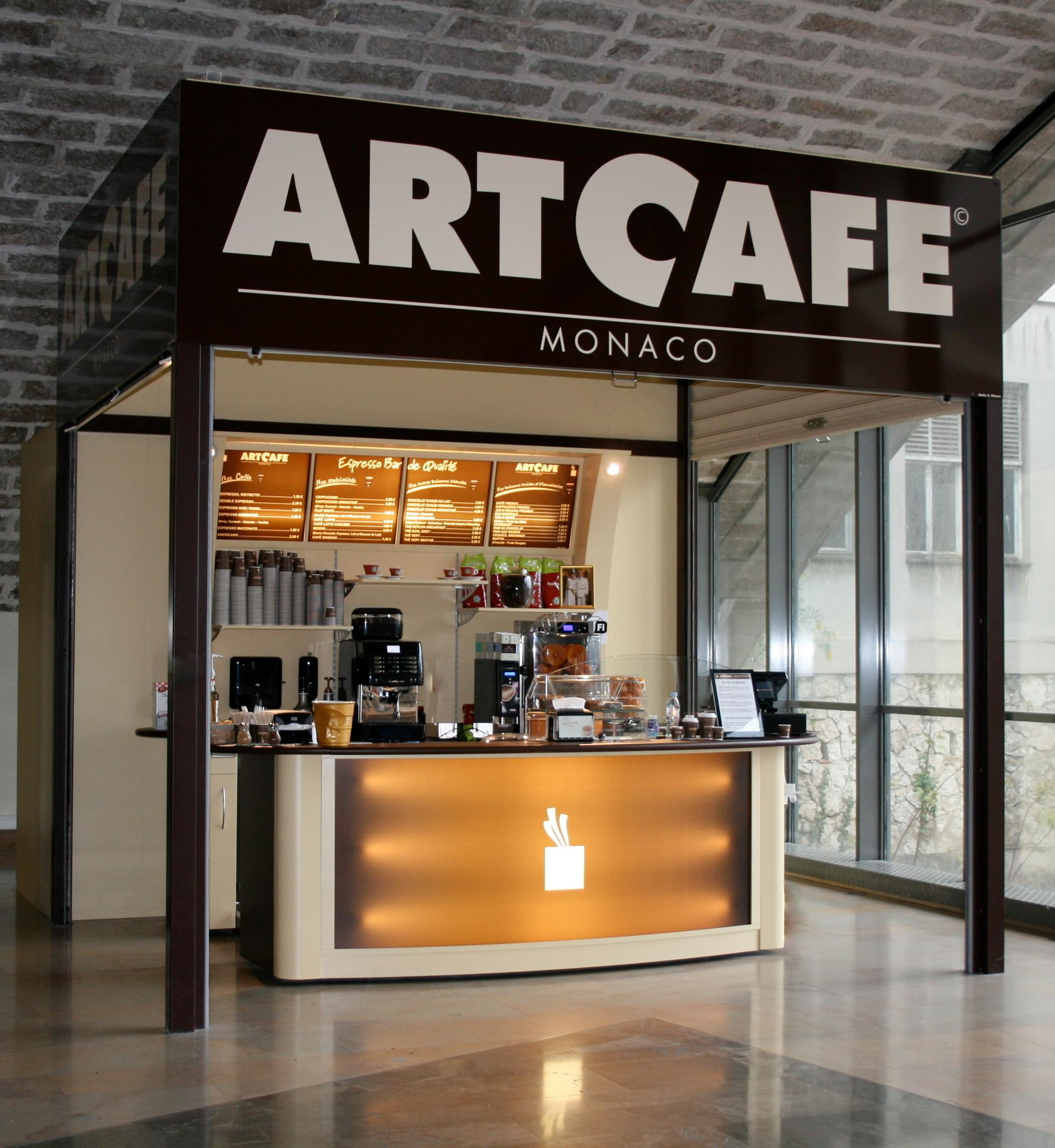 L'Art Café: un mini shop Simple point Techfood a Montecarlo