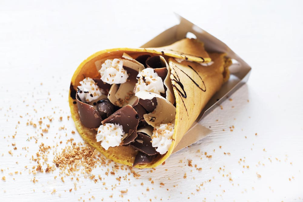 Choco Kebab - take away 2 fromte