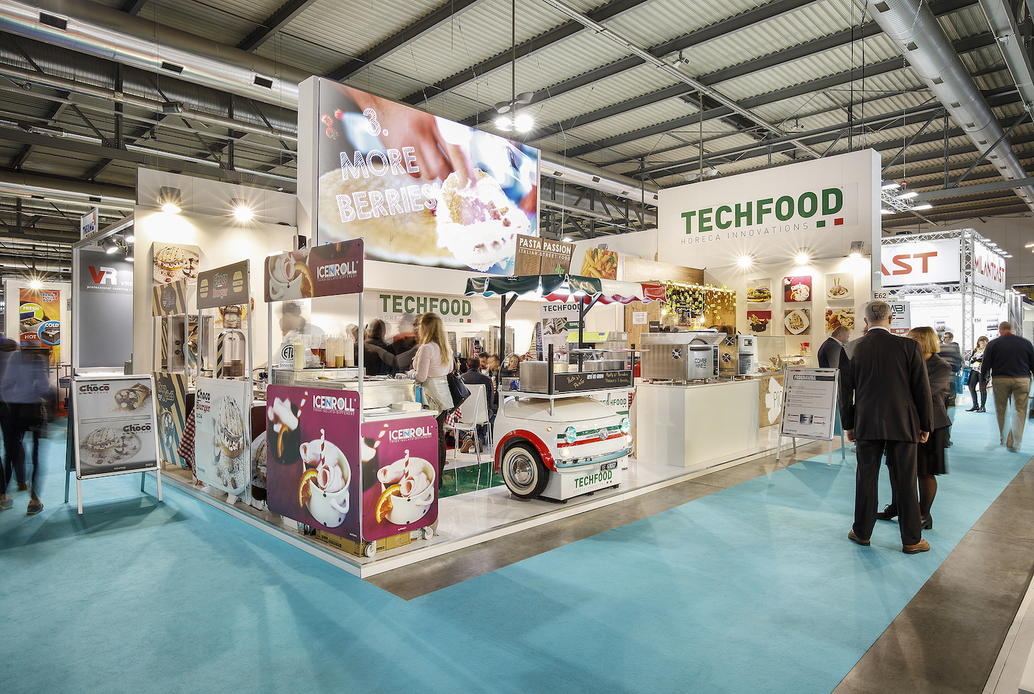 Idee per un bar innovativo: Techfood a HostMilano