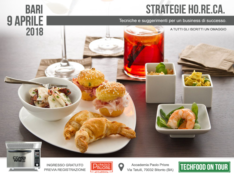 Techfood on tour Bari