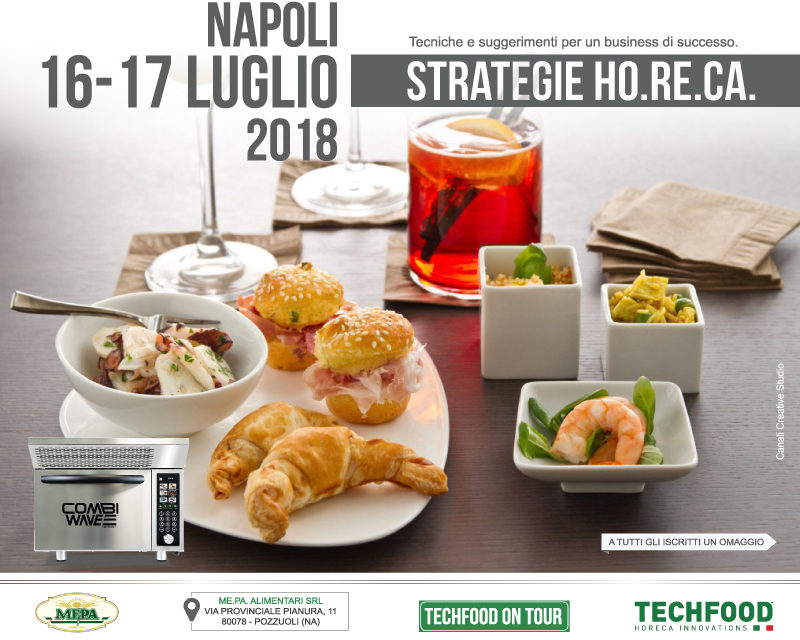 Techfood on tour Napoli