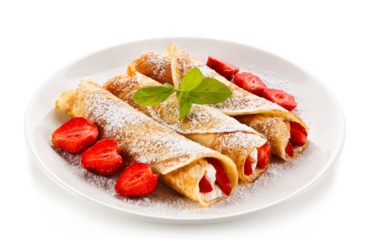 crepes-fragole